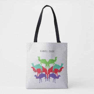 Bolsa Tote Camelos na sacola