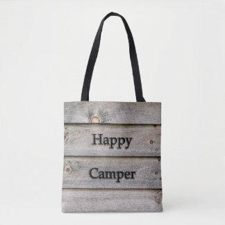 Bolsa Tote Campista feliz