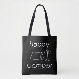 Bolsa Tote Campista feliz (branco)