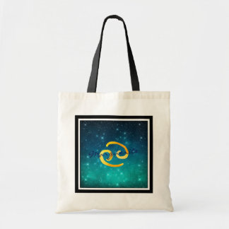 Bolsa Tote Cancer estrelado do sinal de Sun do zodíaco do céu