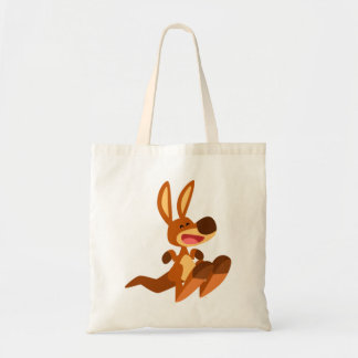 Bolsa Tote Canguru bonito Joey dos desenhos animados