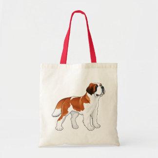Bolsa Tote Canino do amor do cão de filhote de cachorro de St