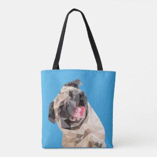Bolsa Tote Cão bonito dos espanadores