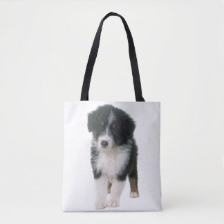 Bolsa Tote Cão de filhote de cachorro australiano do pastor
