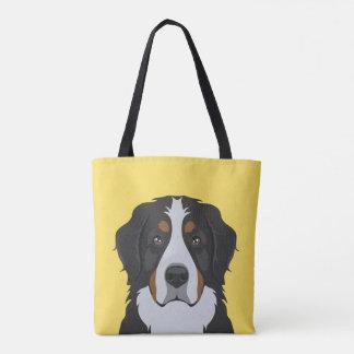 Bolsa Tote Cão de montanha de Bernese