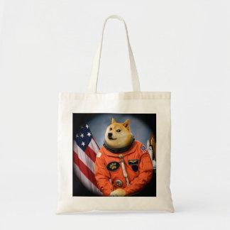 Bolsa Tote cão do astronauta - doge - shibe - memes do doge