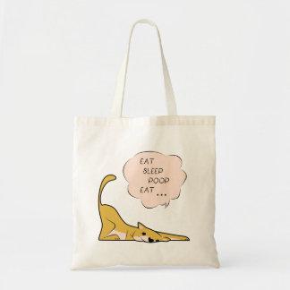 Bolsa Tote Cão engraçado bonito