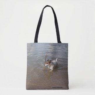 Bolsa Tote Capo von Oppenheim Jack Russell Terrier, cão