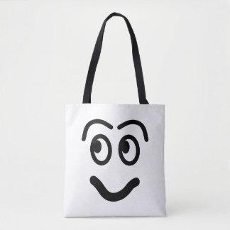 Bolsa Tote Cara engraçada