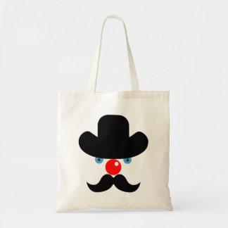 Bolsa Tote Cara engraçada do palhaço