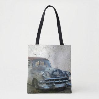 Bolsa Tote Carro antigo velho oxidado