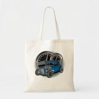 Bolsa Tote Carro azul da rua de Rod do rato