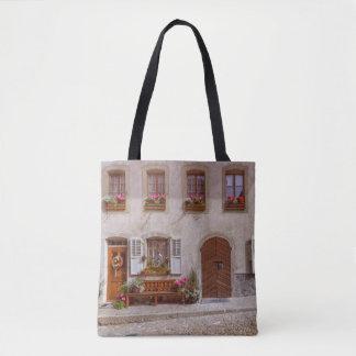 Bolsa Tote Casa na vila do Gruyère, suiça