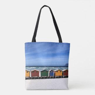 Bolsa Tote Casas ideais das férias tropicais da praia