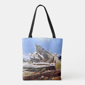 Bolsa Tote CASPAR DAVID FRIEDRICH - o mar do gelo 1824