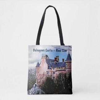 Bolsa Tote Castelo de Balnagown - clã de Ross