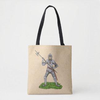 Bolsa Tote Cavaleiro inglês do século XV