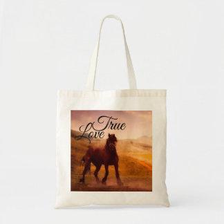 Bolsa Tote Cavalo verdadeiro do amor