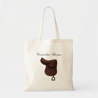 Bolsa Tote Cavalos - cor equestre formal da sela da aderência