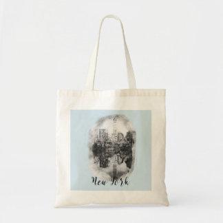 Bolsa Tote Central Park da Nova Iorque que tira a sacola