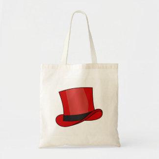 Bolsa Tote Chapéu alto vermelho