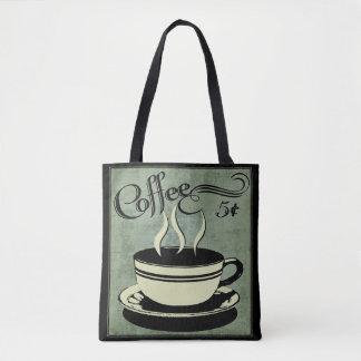 Bolsa Tote Chávena de café de cinco centavos
