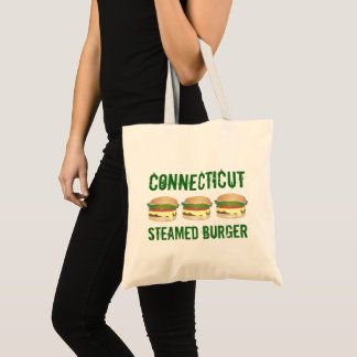 Bolsa Tote Cheeseburger cozinhado Connecticut do hamburguer