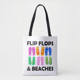 Bolsa Tote Chinelos e praias