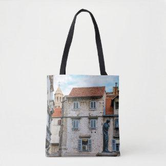 Bolsa Tote Cidade velha, separação, Croatia
