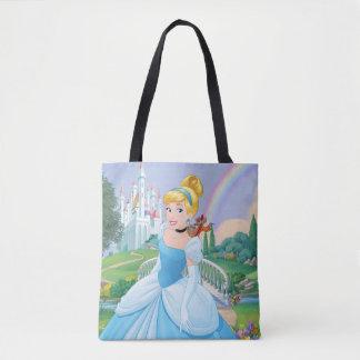 Bolsa Tote Cinderella com GUS & Jaq