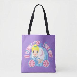 Bolsa Tote Cinderella | eu não faço o toque de recolher