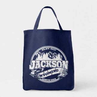 Bolsa Tote Círculo velho de Jackson