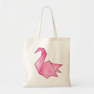 Bolsa Tote Cisne de Origami