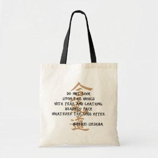 Bolsa Tote Citações do Aikido
