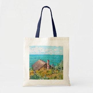 Bolsa Tote Claude Monet a cabine em belas artes do