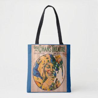 Bolsa Tote cobrir do playbill do teatro de Cohan do 1920