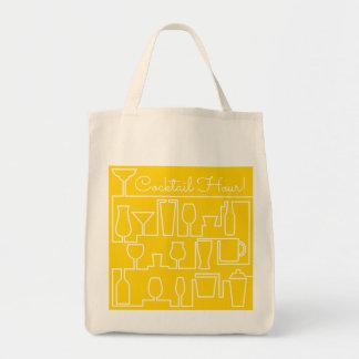 Bolsa Tote Cocktail amarelo