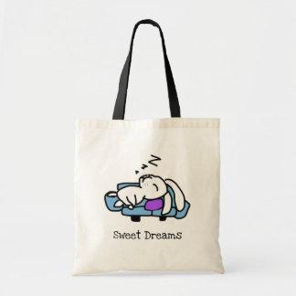 Bolsa Tote Coelho bonito da sacola dos sonhos doces