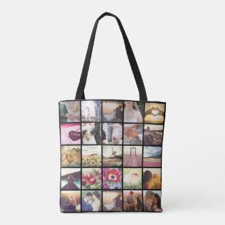 Bolsa Tote Colagem da foto de Instagram