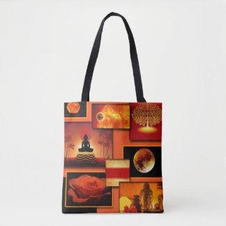 Bolsa Tote Colagem de Chakra