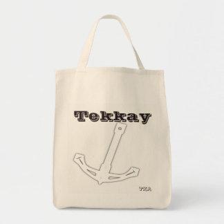 Bolsa Tote Coleção da âncora de Tekkay