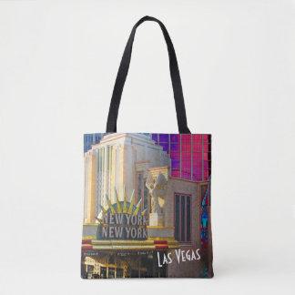 Bolsa Tote Coleção do viagem de Las Vegas - New York - New
