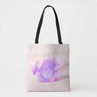 Bolsa Tote coleção floral. lilac