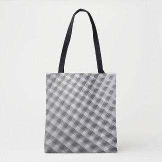 Bolsa Tote Colisão branca que olha o saco