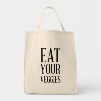 Bolsa Tote Coma seus vegetarianos