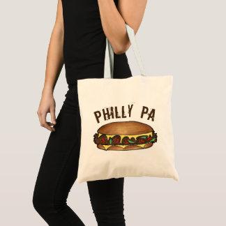Bolsa Tote Comida do sanduíche de bife do queijo do PA