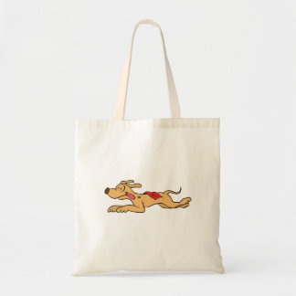 Bolsa Tote Competência de cão do galgo dos desenhos animados