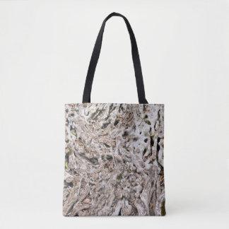 Bolsa Tote Composição da raiz da árvore