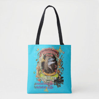 Bolsa Tote Compositor animal Handel do golfinho engraçado de