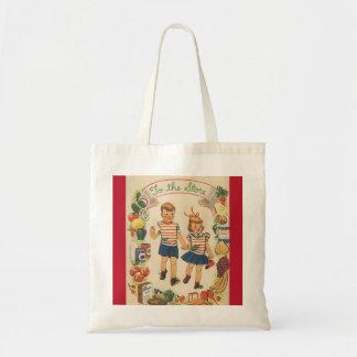 Bolsa Tote comprar dos miúdos dos anos 60